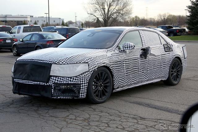 独家报道大型豪华轿车的商业模型在纽约国际汽车展   月公布的林肯