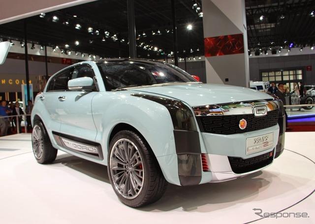 クオロス 2 SUV PHEV (Shanghai motor show 15)