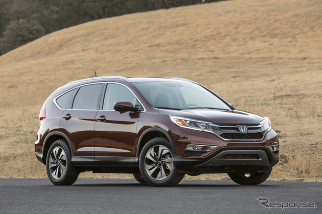 By the year 2015 of the Honda CR-v model.