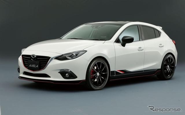 Mazda Axela sports racing concept 2015