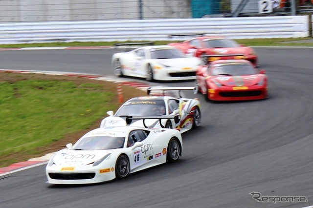 Ferrari racing days Fuji 2015