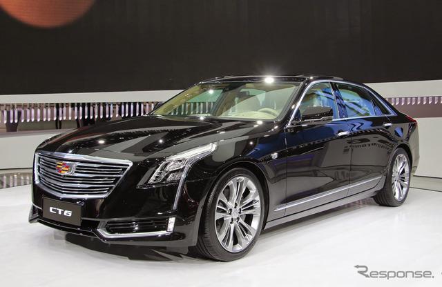 Cadillac CT6 PHEV (Shanghai motor show 15)