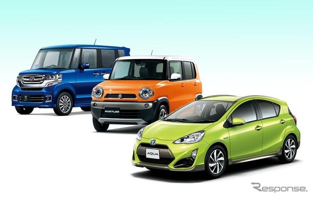 April car sales top 3 Toyota actor N-BOX Honda, Suzuki Hitler