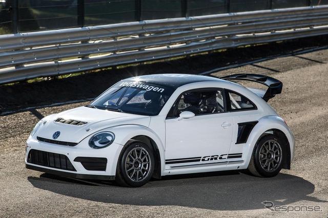 Coche de carreras tipo VW Escarabajo GRC 2015