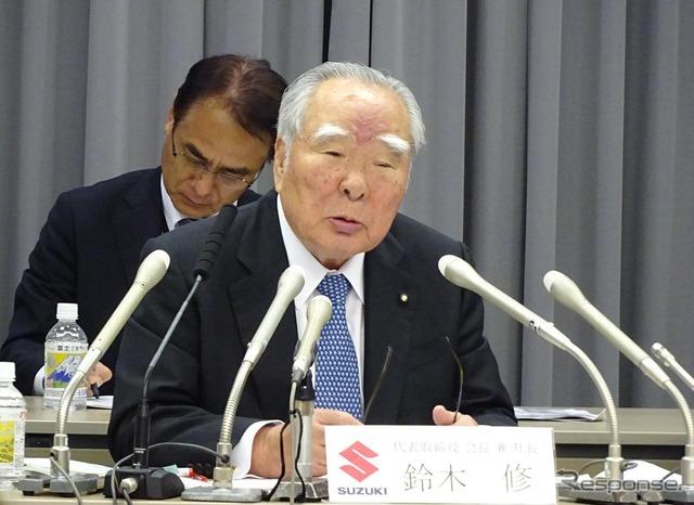 Suzuki President Osamu Suzuki