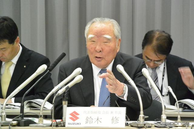 Osamu Suzuki, Suzuki Motor Corporation Chairman and CEO