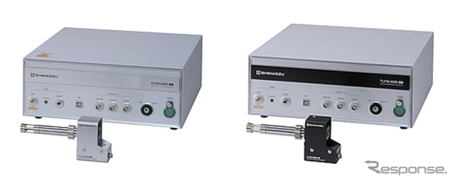 """Fast response gas """"EGR-chaser"""" (left: oxygen concentration measurement type, right: carbon dioxide concentration measurement type)"""