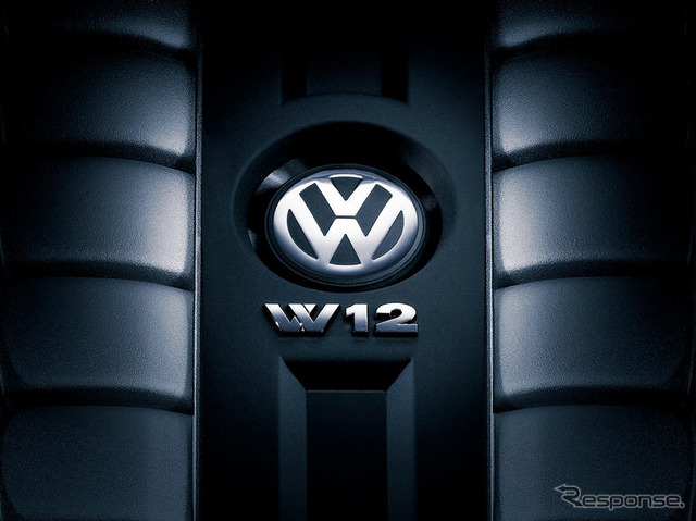 W12 Engine vw The vw Touareg W12 Engine And