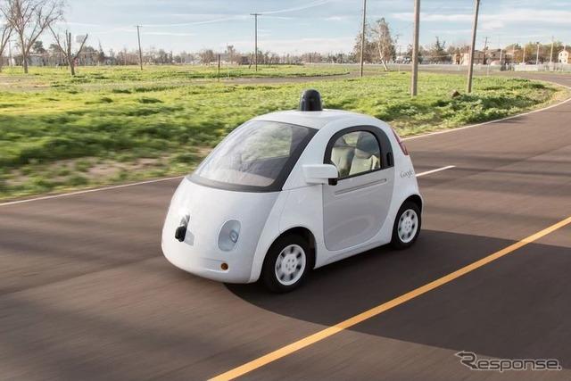 Latest prototype vehicle developed Google driverless car