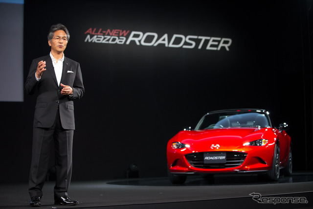 Mazda Roadster developer in charge and program manager, Nobuhiro Yamamoto