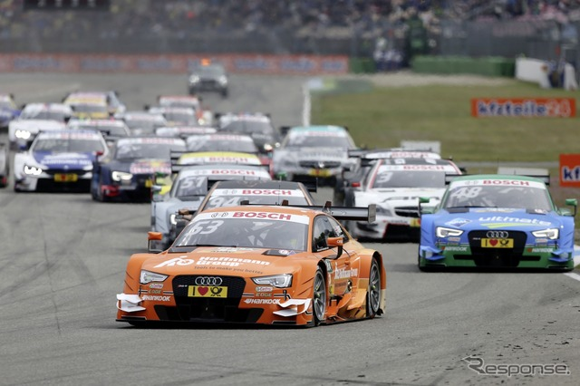 DTM season lessen Audi, Mercedes and BMW are battling for supremacy