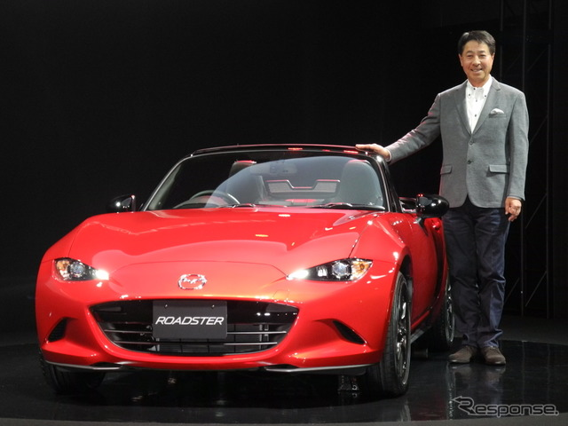The Roadster, and the President & CEO Masamichi Kogai