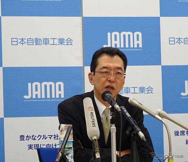Chairman of Japan Automobile Manufacturers Association's pond, Fumihiko