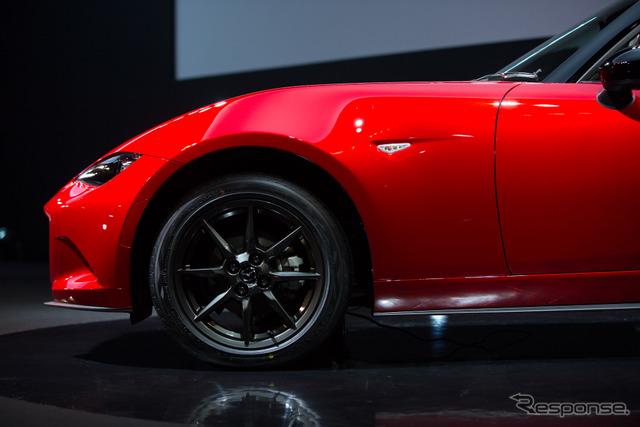 รถยนต์ใหม่พร้อมกับมาสด้า Roadster กีฬา ADVAN V105