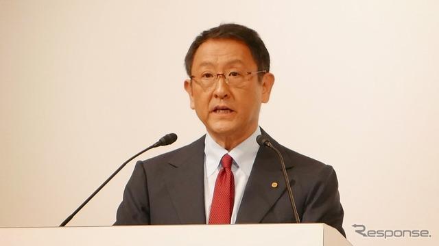Toyota President Akio Toyoda (reference image)