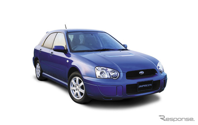 Subaru Impreza sports wagon (2004)