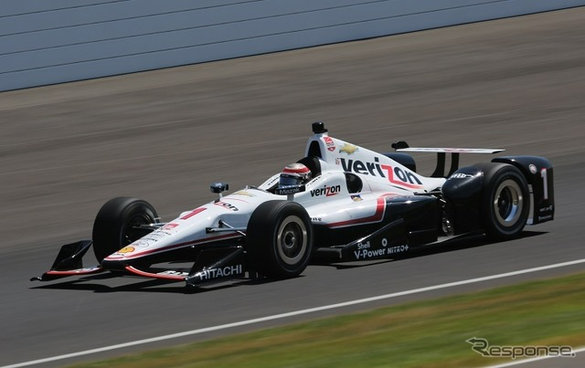 Curve day was the fastest Penske's will power