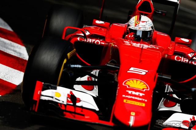 Third went to Michele alboreto (Ferrari)