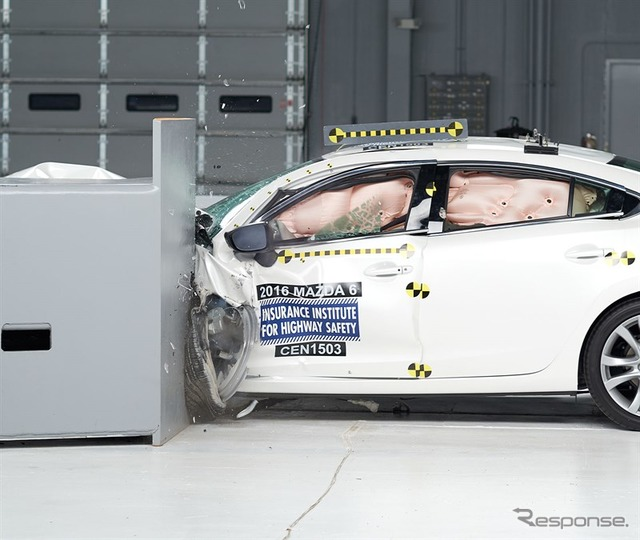 Mazda Mazda6 2016-IIHS crash test