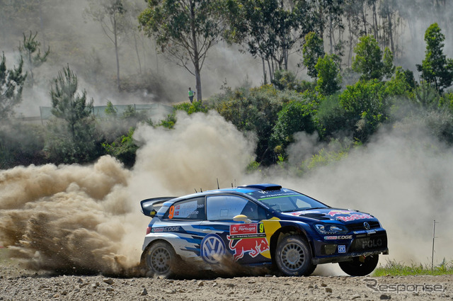 Round 5 of the WRC rally Portugal