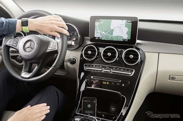 Mercedes-Benz can work with Apple Watch application