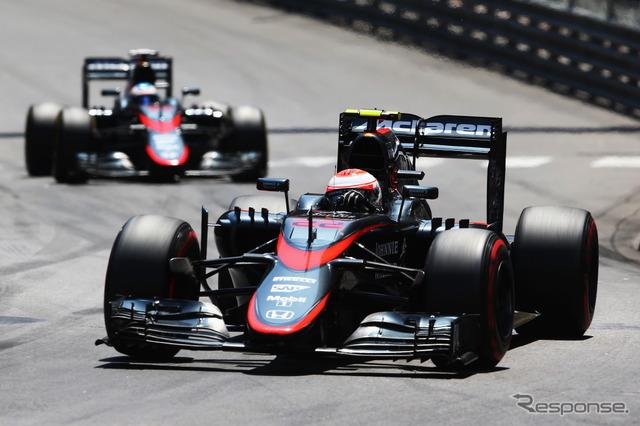 Two lap in Monaco, he had a McLaren-Honda
