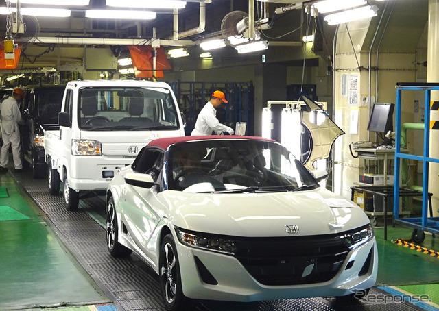 Yachiyo industries Yokkaichi works to produce Honda S660