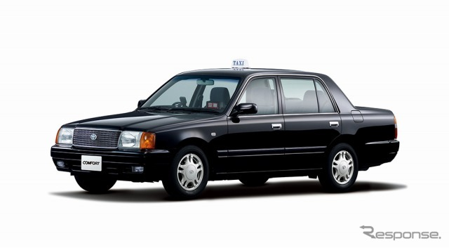 Comfort SG (black) examples < vehicles equipped with options > taxi marking lights, indicator lights.