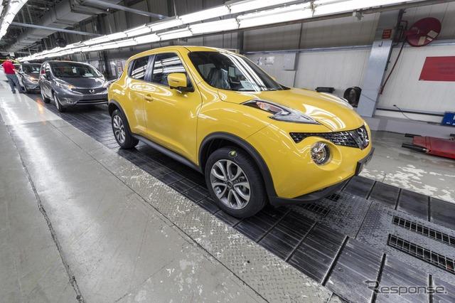 Improved new Juke in United Kingdom Nissan's Sunderland factory starts production