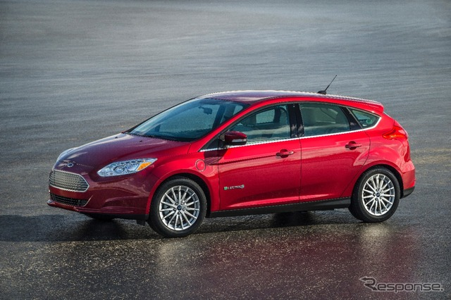 2015 models of the Ford focus electric