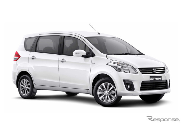 Suzuki complete four-wheel vehicle plant in Indonesia. エルティガ production