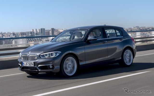 BMW 1 series 3-cylinder engine vehicles