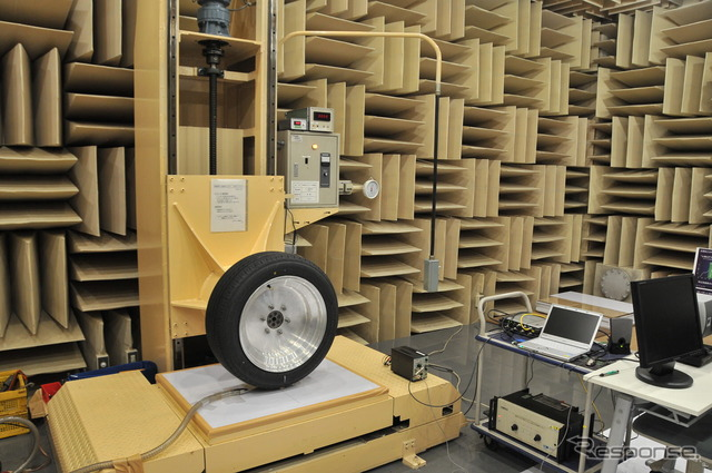 An anechoic chamber is Bridgestone Tokyo factory and Technology Center