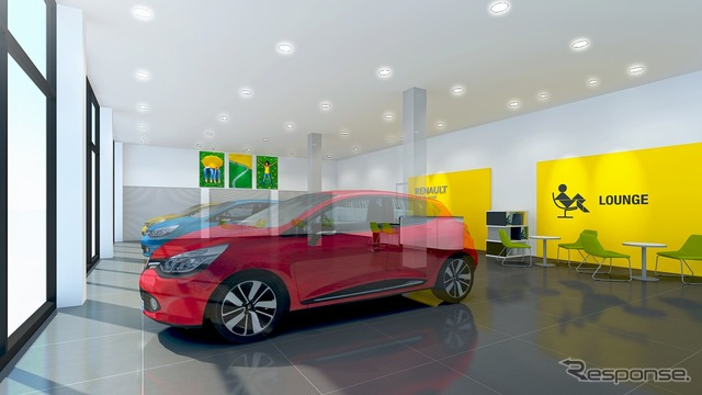 Renault Kumamoto, reopened.