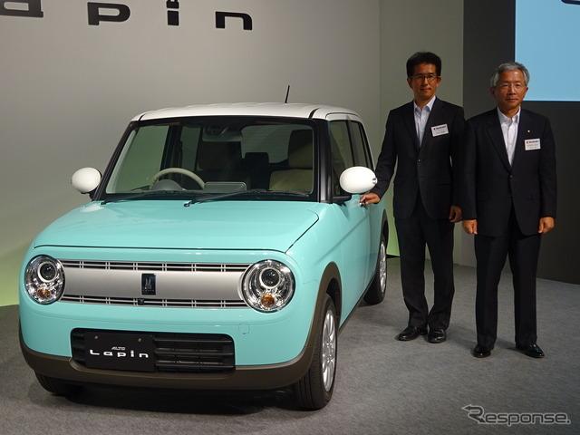 Suzuki Alto Lapin Launch