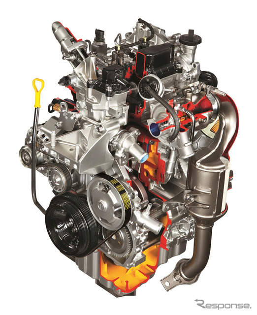 Suzuki E08A type diesel engine