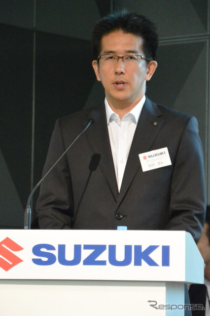 Yasuhiro Kawamura, First Car Line chief engineer and section chief at Suzuki Motor Corporation