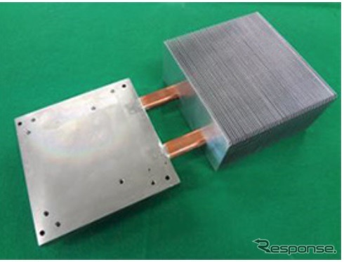 Examples of using new heat pipe developed heat sink