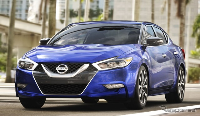 The all-new Nissan Maxima