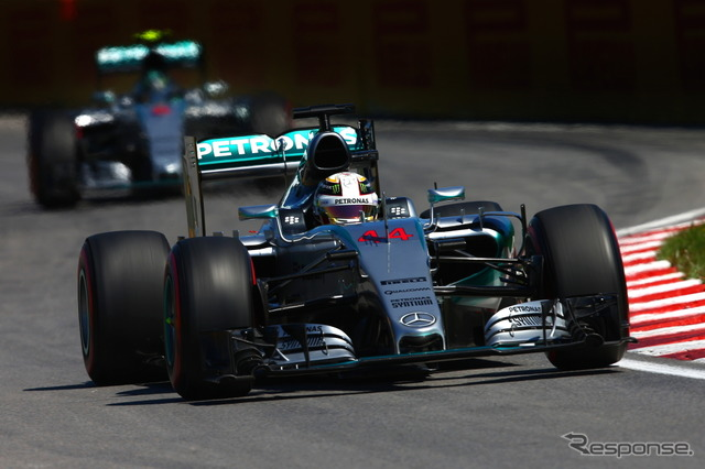 Lewis Hamilton won the pole position for the sixth time this season