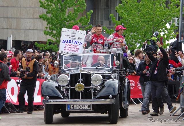 Le Mans 24 ชั่วโมงความอดทนการแข่งขัน โดย 2015 ในวันแห่