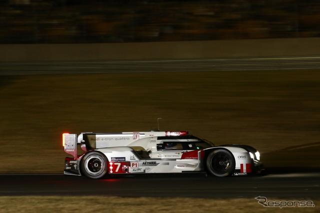 ผ่านไป 18 ชั่วโมง ช่วงเช้าได้รับการต้อนรับ โดย 2015 Le Mans 24 ชั่วโมง