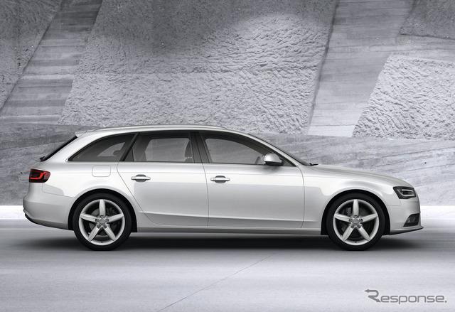 Audi A4 avant ชนิดปัจจุบัน