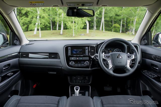 The new improved Mitsubishi Outlander PHEV