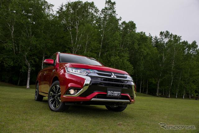 New and improved Mitsubishi Outlander PHEV