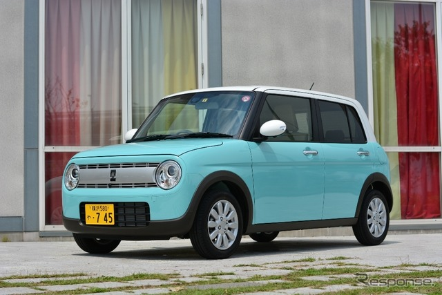 """Suzuki alto_lapin new announcements needs intake for women aimed at the """"cute, but kids seem"""""""