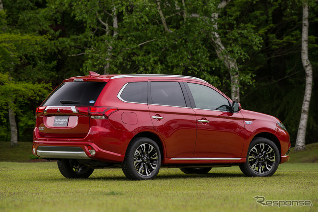 All-new and updated Mitsubishi Outlander PHEV