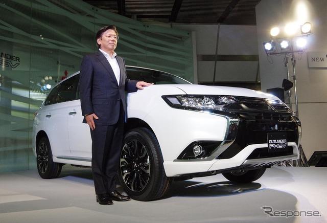 Mitsubishi Motors President Tetsuro Aikawa
