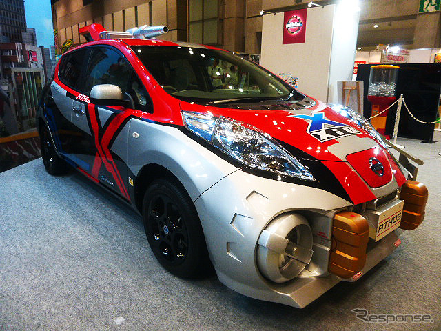 Nissan exhibited joads, fictional vehicles that appeared in Ultraman X from 7/14 is aired on TV Tokyo (Tokyo toy show by 2015)