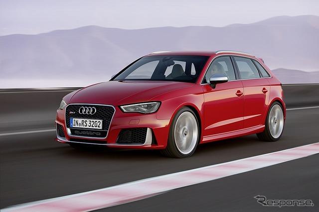 เครื่องยนต์ Audi RS3 2.5 ลิตร TFSI ด้วย